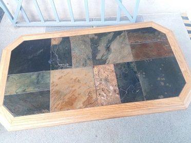 Konferenční stůl s kamenem, cena 2.400,-kč