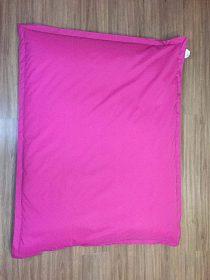 Růžový sedací pytel