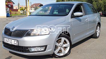 Škoda Rapid Spaceback 2014 1.6TDI 77kW
