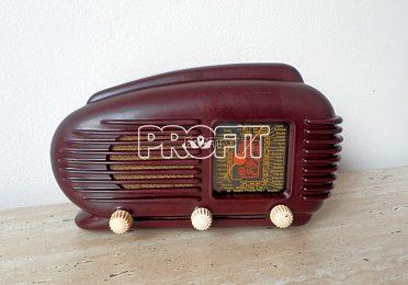 Art Deco starožitné rádio Talisman 308U, top-top stav