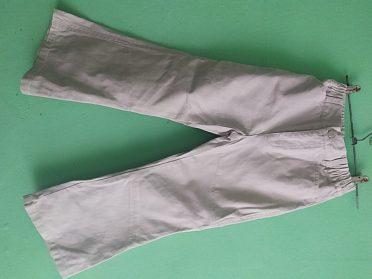 Letní kalhoty vel.116