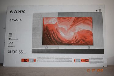 Nová Sony Bravia KD-55XH9077