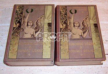Starožitné knihy Přírodní léčba a domácí lékař z roku 1923