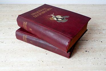 Praktická hospodyňka, dvojdílná starožitná kniha z roku 1928