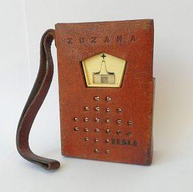 Tranzistorové rádio Tesla Zuzana, rok výroby 1964/1965 včetně pouzdra
