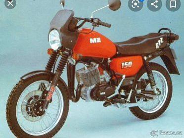 Koupim zachovaly motocykl MZ 250 nebo 150
