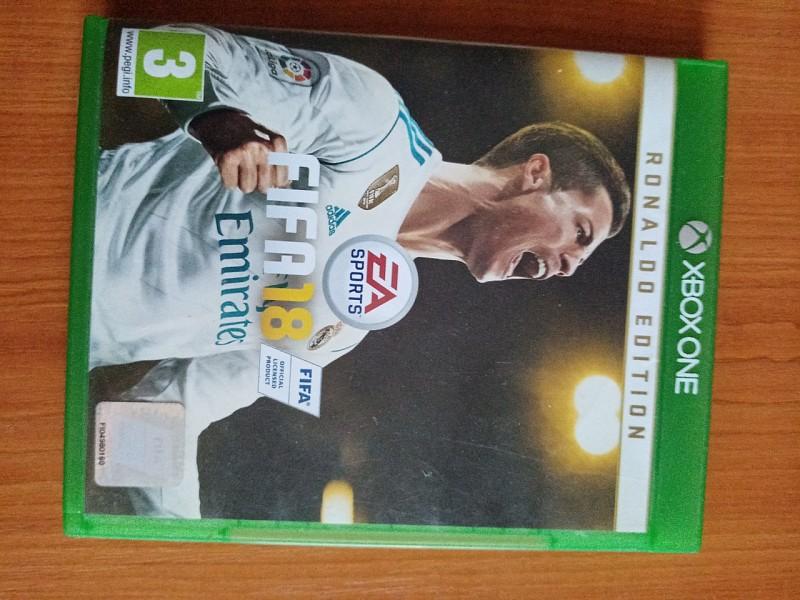 Hra Fifa 18 na xbox one