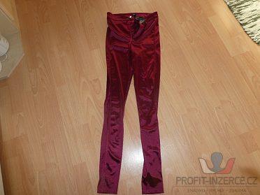 Dámské saténové kalhoty DIVIDED H&M