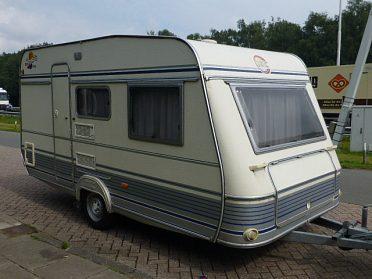 prodám karavan TEC c pojezdem