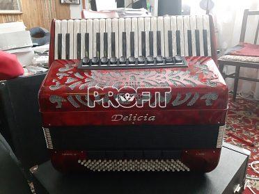 Prodám nový klávesový akordeon DELICIA Chorál 26 šachta