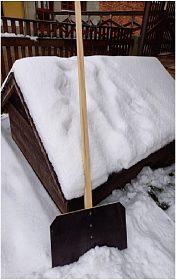 Hrablo na sníh