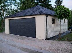 Montované garáže (s omítkou) pro celou ČR