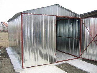 AKCE na plechové garáže, doprava a montáž zdarma