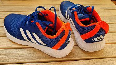 Dětské tenisky Adidas, vel. 36, modré, jako nové