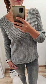 NOVÉ dámské svetříky protkané třyptivým vláknem v různých barvách