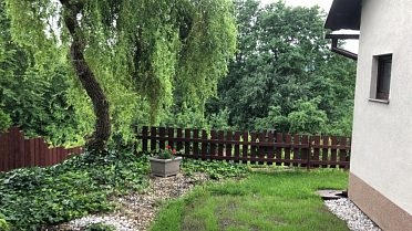 Chata se zahradou na prodej