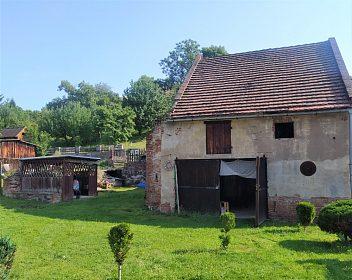Prodej chalupy 60 m², pozemek 1 614 m² Nepomyšl - Dvérce, okres Louny