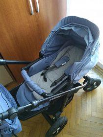 Kočárek Baby Design + autosedačka