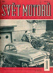 Svět motorů, staré motoristické časopisy, kompletní ročníky 1963 a 64