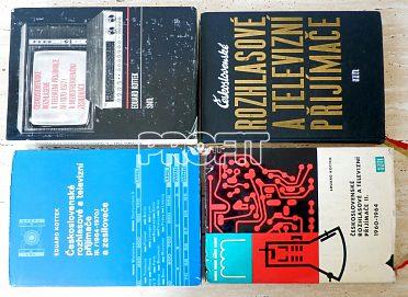 Starožitná rádia - Eduard Kottek – kompletní série čtyř knih