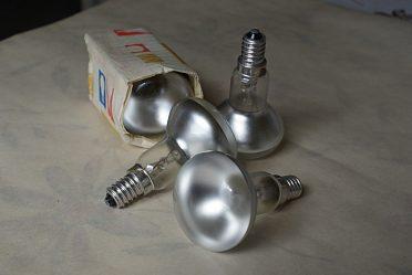 Reflektorky  220V/40W šest kusů.
