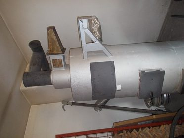 Prodám horkovzdušná kamna 35 KW