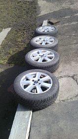 Zimní pneu na Alu disku