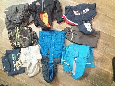 Oblečení, obuv atd. na děti od půl roku do 6-ti let.