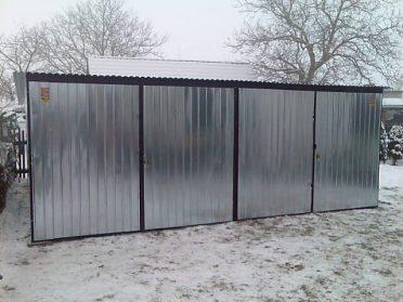 PLECHOVÁ GARÁŽ 3 x 5 m   3 x 6 m