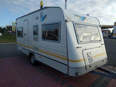 prodám karavan Knaus 450 s pojezdem