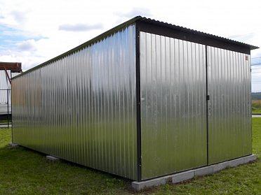 PLECHOVÁ GARÁŽ 3 x 5 m | 3 x 6 m