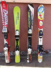 Dětské lyže 100 a 110