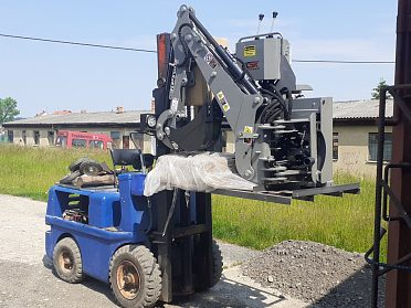 Podkop za traktor SN3
