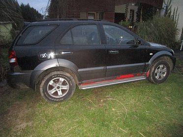 Kia Sorento 2,5 Crdi 103 kw 2005 4x4 TOD manualní převodovka