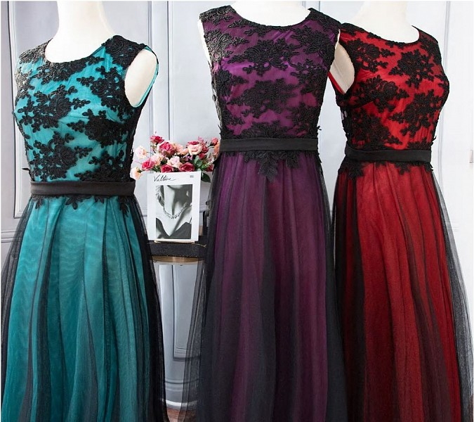 Společenské šaty Ever Pretty-fialové