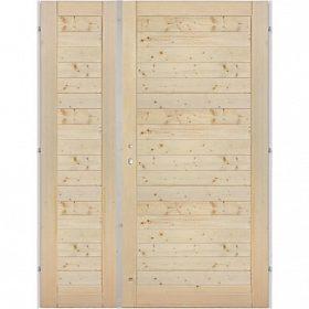 - Palubkové dveře dvoukřídlé vodorovné 125cm