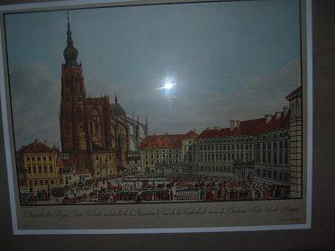 litgrafie  Praha