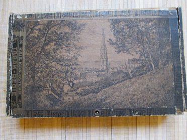 stará krabička od doutníků