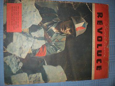 Časopisy staré z r.1945-1948