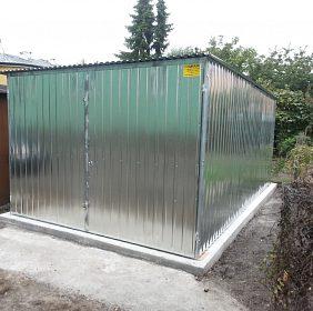 garáž 3x5m