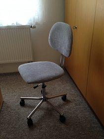 Novou velmi kvalitní otočnou židli-50 procent SLEVA