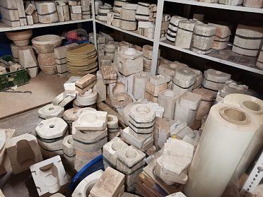 Prodej sádrových forem na keramiku