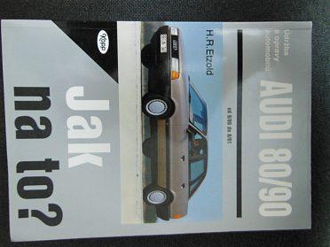 Nové knihy Audi 80