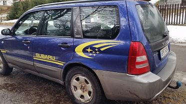 Subaru Forester SG  2,0i 92kw AWD,  LPG s el.vstřikováním aditi