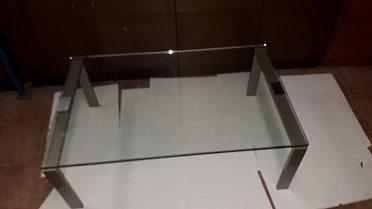 Stolek do obýváku, skleněný