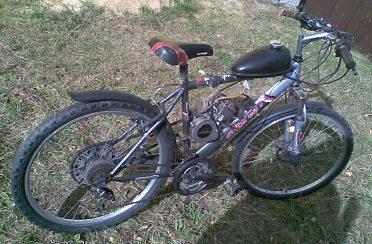 Prodám horské kolo s novým motorem