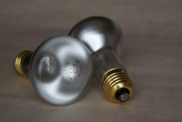 Nové 2 kusy reflektorky závit E27