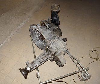 Převodovka na transportér  VW T4.  1,9  TD,  50 KW