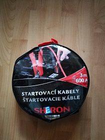Prodám startovaci kabely Sheron 600 A 3m - nepouzite