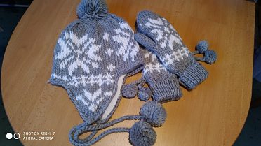 Čepice+rukavice